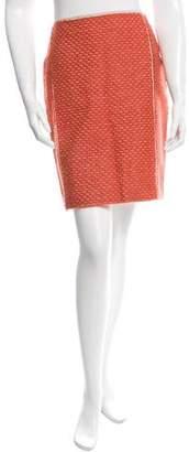 Bottega Veneta A-Line Mohair Skirt w/ Tags
