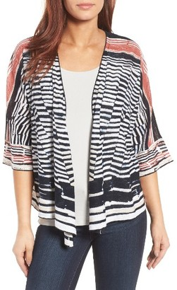 Women's Nic+Zoe Print Four-Way Cardigan $138 thestylecure.com