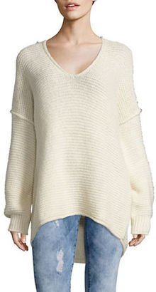 Free People All Mine Knit Sweater $128 thestylecure.com