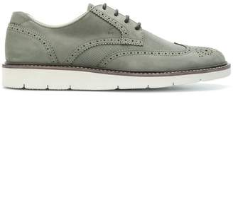 Hogan ridged sole Oxford shoes