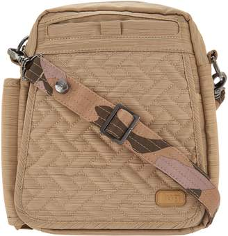 Lug RFID Convertible Crossbody Bag w/ Bonus Strap - Flapper