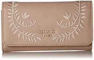 GUESS Nessa Embroidered Slim Clutch Wallet SAN