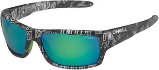 O'Neill Barrel Reflective Lens Patterned Sunglasses Black/White