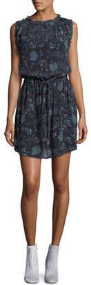 Velvet Raelyn Round-Neck Floral-Print Dress