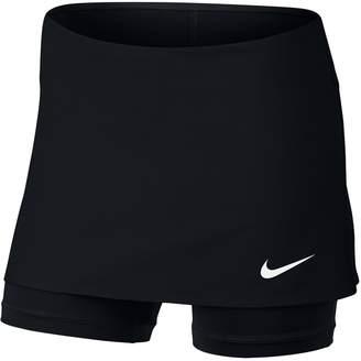 Nike Girls 7-16 Power Tennis Skirt with Built-In Shorts
