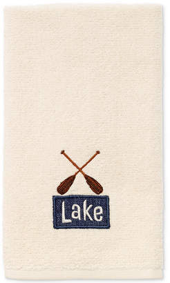 Avanti Lakeville Cotton Embroidered Fingertip Towel Bedding