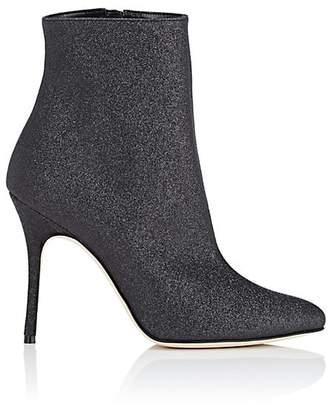 Manolo Blahnik Women's Insopo Glitter Ankle Boots