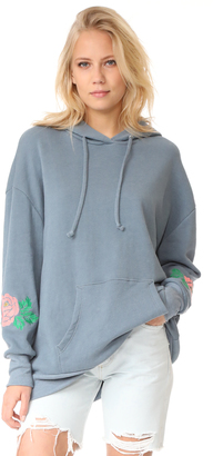 Wildfox Rose Embroidered Sweatshirt $216 thestylecure.com