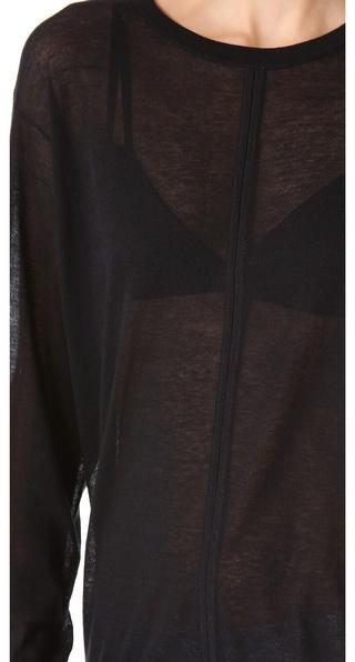 Alexander Wang Long Sleeve Pullover