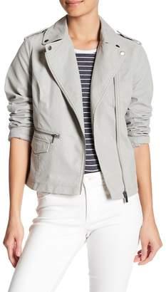 BNCI by Blanc Noir Faux Leather Moto Jacket
