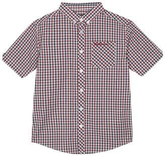 Ben Sherman Boys' Multi-Coloured Gingham Print Shirt