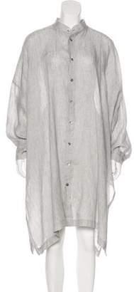 eskandar Linen Oversize Tunic