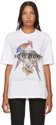 Alexander McQueen White Jungle Collage T-Shirt