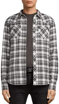 AllSaints Blackroad Regular Fit Button-Down Shirt