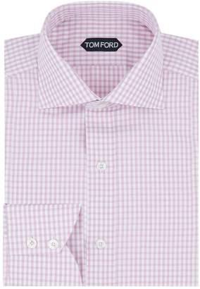 Tom Ford Gingham Slim Fit Shirt