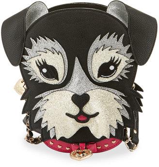 Betsey Johnson Kitsch Fritzy Dog Crossbody Bag, Black $75 thestylecure.com