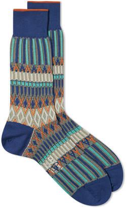 Ayame Socks Basket Lunch Multi Sock