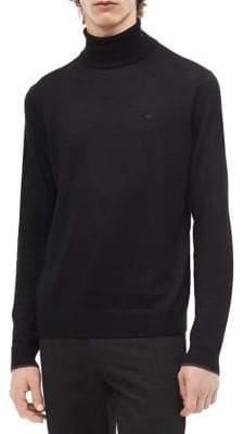 Calvin Klein Turtleneck Merino Wool Sweater