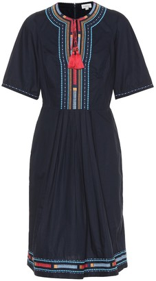 Talitha Collection Embroidered cotton dress