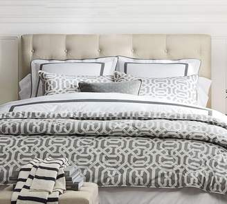 Pottery Barn Lorraine Tufted Low Upholstered Headboard