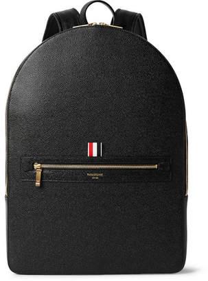 Thom Browne Pebble-Grain Leather Backpack