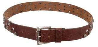 Just Cavalli Leather Studded Belt