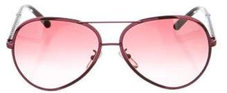 Fendi Tinted Aviator Sunglasses