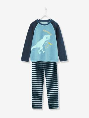 Vertbaudet Boys' Velour Pyjamas