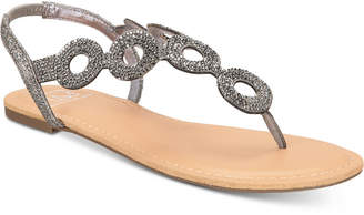 Material Girl Sailor Flat Sandals, Women Shoes