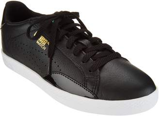 Puma Leather & Suede Lace-up Sneakers - Match