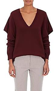 Sies Marjan SIES MARJAN WOMEN'S WOOL-BLEND RUFFLE SWEATER