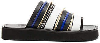 3.1 Phillip Lim Eva Multi Stripe Sandal