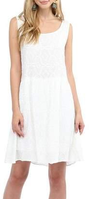 Glam Effortless Embroidered Dress