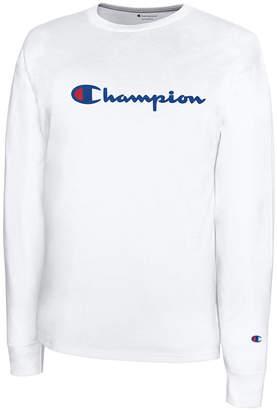 Champion Men's Script-Logo Sweatshirt