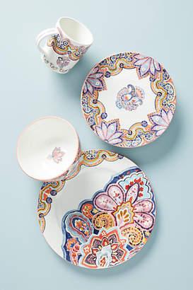 Anthropologie Zita Dinner Plates, Set of 4
