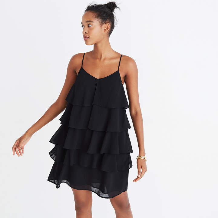Ruffle-Tier Cami Dress
