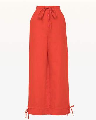 Juicy Couture Washed Linen Crop Pant
