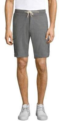 Eleventy Stretch Cargo Shorts
