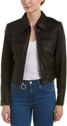 A.L.C. Allen Leather Jacket