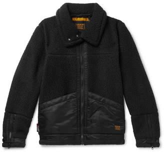 Neighborhood Shell-Trimmed Polartec Fleece Jacket
