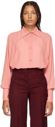 Nina Ricci Pink Georgette Shirt