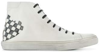 Saint Laurent Bedford SL box check sneakers
