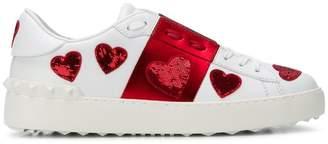 Valentino heart sneakers