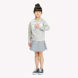 Tommy Hilfiger All-Over Stripe Skater Skirt