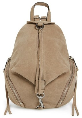 Rebecca Minkoff Medium Julian Leather Backpack - Blue $275 thestylecure.com