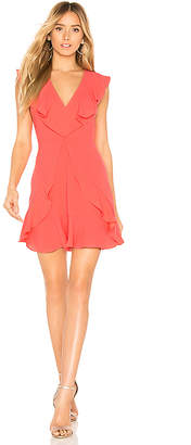 BCBGMAXAZRIA Eleeza Ruffle Dress