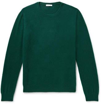 Boglioli Brushed Wool And Cashmere-Blend Sweater