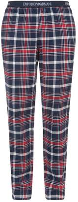 Emporio Armani Check Lounge Trousers