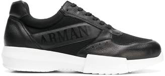 Giorgio Armani logo print sneakers