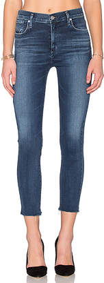 A Gold E AGOLDE Sophie High Rise Crop Skinny.
